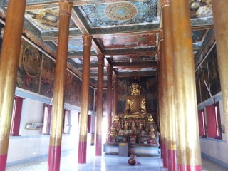 Khmer temple Trà Vinh, Vietnam