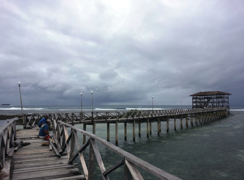 the boardwalk, cloud 9, siargao,
